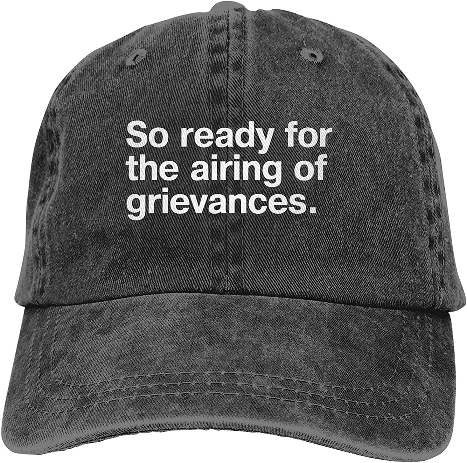 BGWORZD So Ready for The Airing of Grievances Adjustable Washed Dad Hat Cowboy Cap Denim Cap Baseball Cap