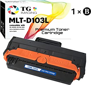 (1-Pack) TG Imaging Compatible (High Yield) D103L MLT-D103L Toner Cartridge (Black), for Samsung ML-2955 ML-2950 SCX-4729 Printer