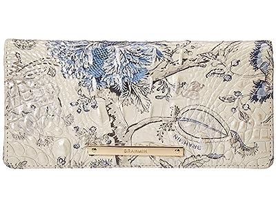 Brahmin Melbourne Ady Wallet (Blue Jay) Wallet Handbags