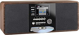 Imperial Dabman i200 Internet/DAB+ radio met CD-speler (Stereo geluid, FM, WLAN, AUX In, Line-Out, hoofdtelefoon uitgang, ...