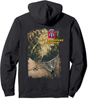 US Army 82nd Airborne Division Grunge Style Hoodie
