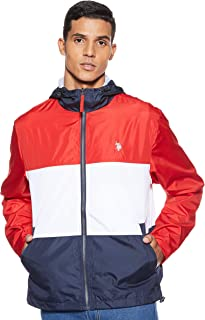 Men's Tri-Color Windbreaker Jacket