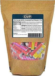 PEZ Candy Refills, Assorted Fruit Flavors, 2 Lb Resealable Bag