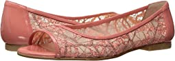 Peach Chagall Mesh/Patent Leather