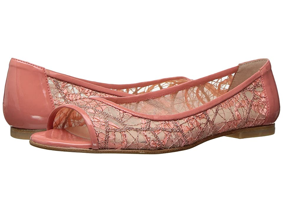 French Sole Noir (Peach Chagall Mesh/Patent Leather) Women