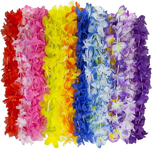 el estilo clásico Jumbo Party Bag  Tropical Hawaiian Luau Lei Lei Lei Styles (50 ct)  Party Favors by Kangaroo Manufacturing  te hará satisfecho