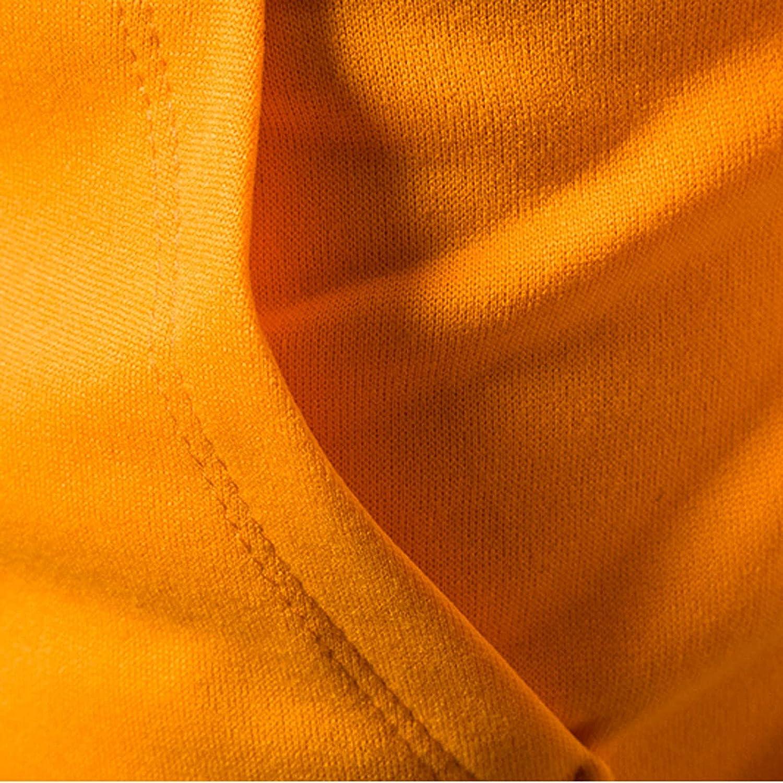 Men's Retro Color Block Top Slim Fit Hooded Sweater Slim Fit Long Sleeve Lightweight Zip-up Hoodie with Kanga Pocket