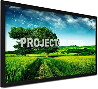 VEVOR Projection Screen 135inch 16:9 Movie Screen Fixed Frame 3D Projector Screen for 4K HDTV Movie Theater