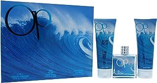 Ocean Pacific Op Blue Fragrance Set for Men (Pack of 3)