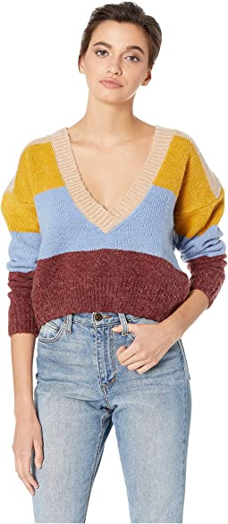 Wellesley Stripe Sweater
