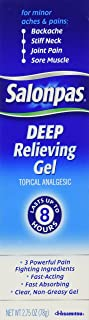 Salonpas Deep Pain Relieving Gel 2.75oz
