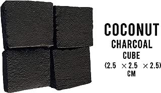 Sunlight Charcoal Coconut Coals – Coconut Charcoal Tablets for Shisha/Incense – Natural, No Odor, No Bad Taste – Easy to Light Coconut Coals – 2.5 x 2.5 x 2.5 cm - 72 Pack