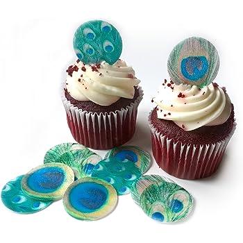 Sheet of 48 Bluey Pre-cut Mini Edible Icing Cupcake Toppers