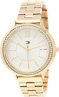 Tommy Hilfiger Women's 1781861 Year-Round Analog Quartz Rose Gold Watch