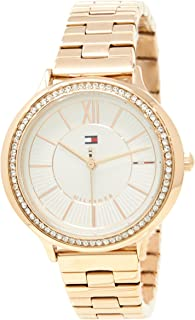 Tommy Hilfiger Women's 1781861 Year-Round Analog Quartz Rose Gold Watch
