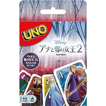 ウノ アナと雪の女王2 UNO FROZEN2 【スペシャルルールカード フォース・オブ・ネイチャー付き】GKD76
