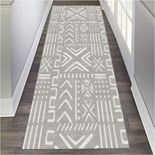 HAIPENG Extra Long Hallway Runner Rug Washable, Narrow Entryway Carpet with Non Skid Backing for Living Dining Room Hall O...
