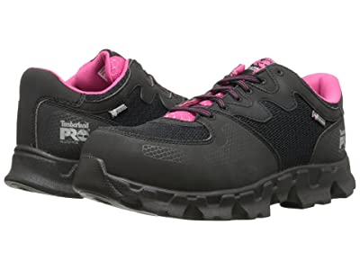 Timberland PRO Powertrain Alloy Toe ESD (Black/Pink) Women