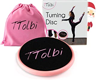 TTolbi Turning Board for Dance, Ballet, Gymnastics | Dance Turn Board on Releve | Turn Disc to Improve Balance and Pirouette | Turning Disc for Dancers | Ballet Turn Board | Dance Spinning Board