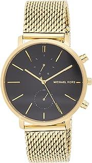 Michael Kors Jaryn Men's Black Dial Stainless Steel Band Watch - MK8503