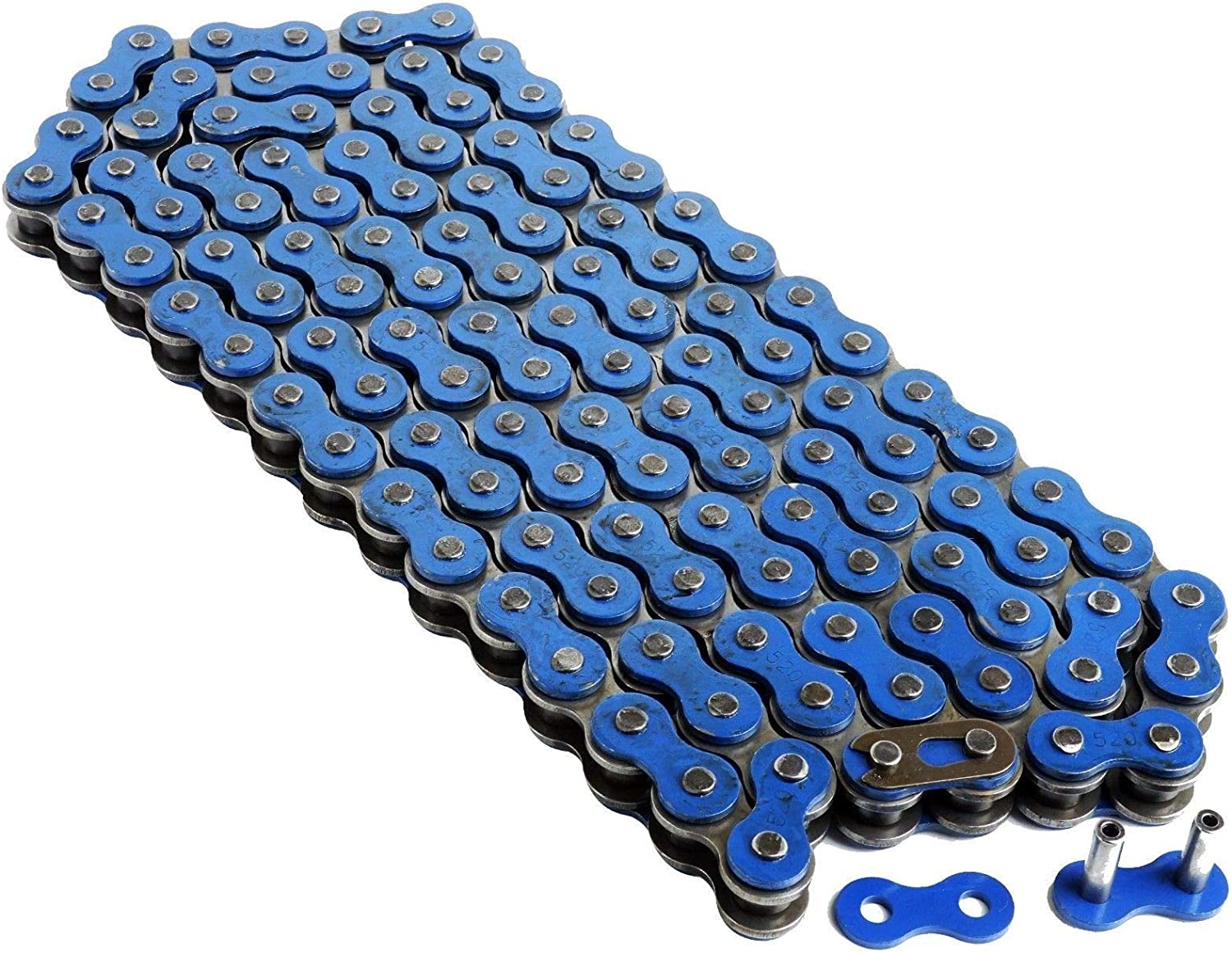 Classic Easy-to-use Caltric Blue Drive Chain Compatible Yfm35 350 With Yamaha Raptor