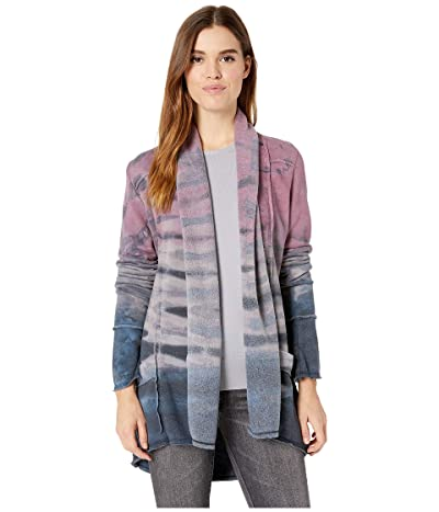 Hard Tail Slouchy Cardigan (Rainbow Horzion 74) Women