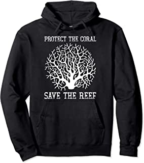 Protect the coral, Save the Reef Earth Day 2020 Pullover Hoodie