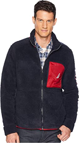 Sherpa Full Zip Knit Active