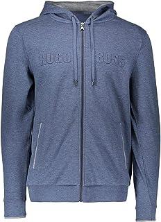 Hugo Boss Men's Heritage Blue Cotton Track Suit
