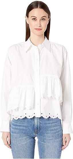 Scallop Hem Shirt