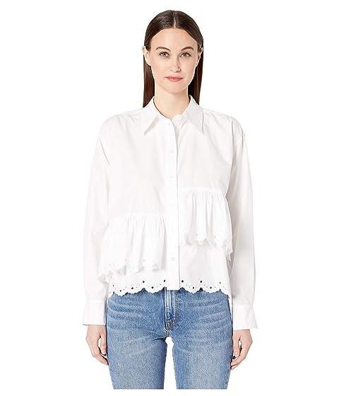McQ Scallop Hem Shirt