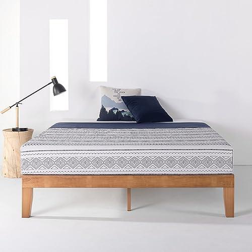 Mellow Naturalista Classic Solid Wood Platform Bed