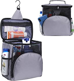 Shower Caddy Tote Bag, Toiletry Bag for Men and Women, Large Capacity Multiple Pockets Bathroom Caddy, Multiple Uses Showe...