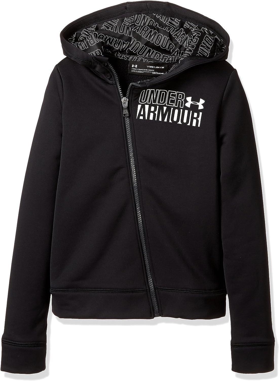 Under Armour Girls Fleece Full Zip Hoody