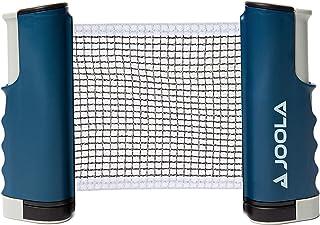 JOOLA Retractable Portable Table Tennis Net and Post Set (Adjustable Length) - Play Ping Pong Anywhere, blue, small