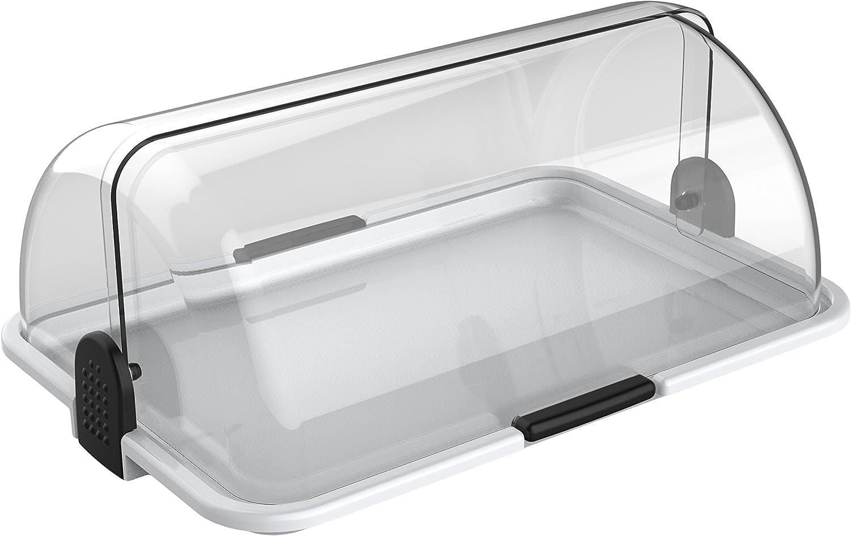 Cuisinox DISL178 Polybox Countertop Bakery Display Case, White