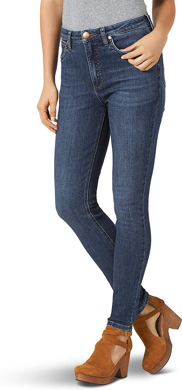 Wrangler Women's Retro High Spring new work one after another Over item handling Rise Jean Skinny