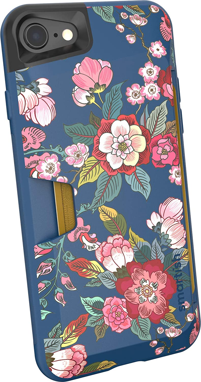 Smartish iPhone 7/8/SE (2020) Wallet Case - Wallet Slayer Vol. 1 [Slim + Protective + Grip] Credit Card Holder for Apple iPhone SE 2020 & iPhone 7/8 - [Silk] - Flavor of The Month