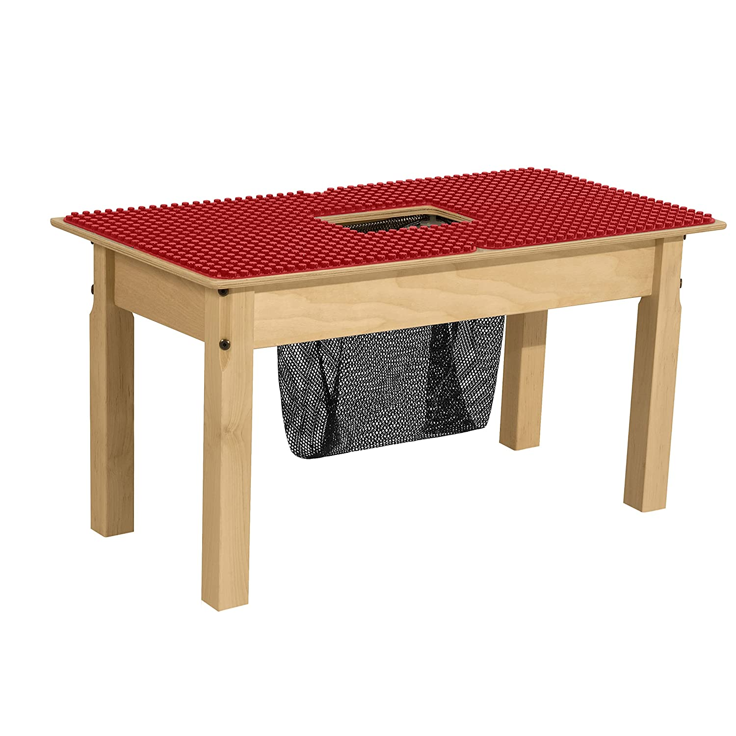 Wood Designs Kids Wooden Rectangular Duplo Table Dealing full price reduction Play Limited price sale 15