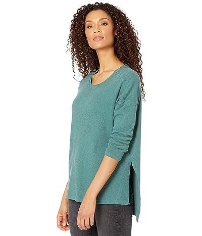 PACT Organic Cotton Side Slit Tunic (Mallard Heather) Women