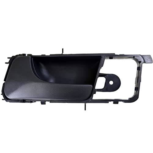 Complete Door Handle Set For 2004-2005 Suzuki Forenza Smooth Black Plastic 4-Pcs