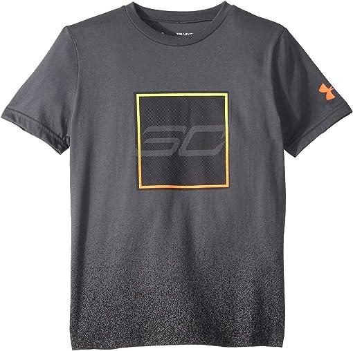 Pitch Grey/Orange Glitch