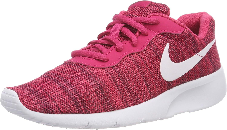 Nike Kids Tanjun (GS) Rush Pink/White Red Crush Running Shoe