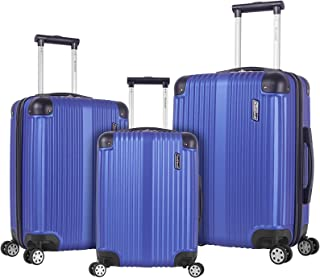 Rockland Hard Luggage, Spinner Luggage, Blue (Blue) - F236-BLUE