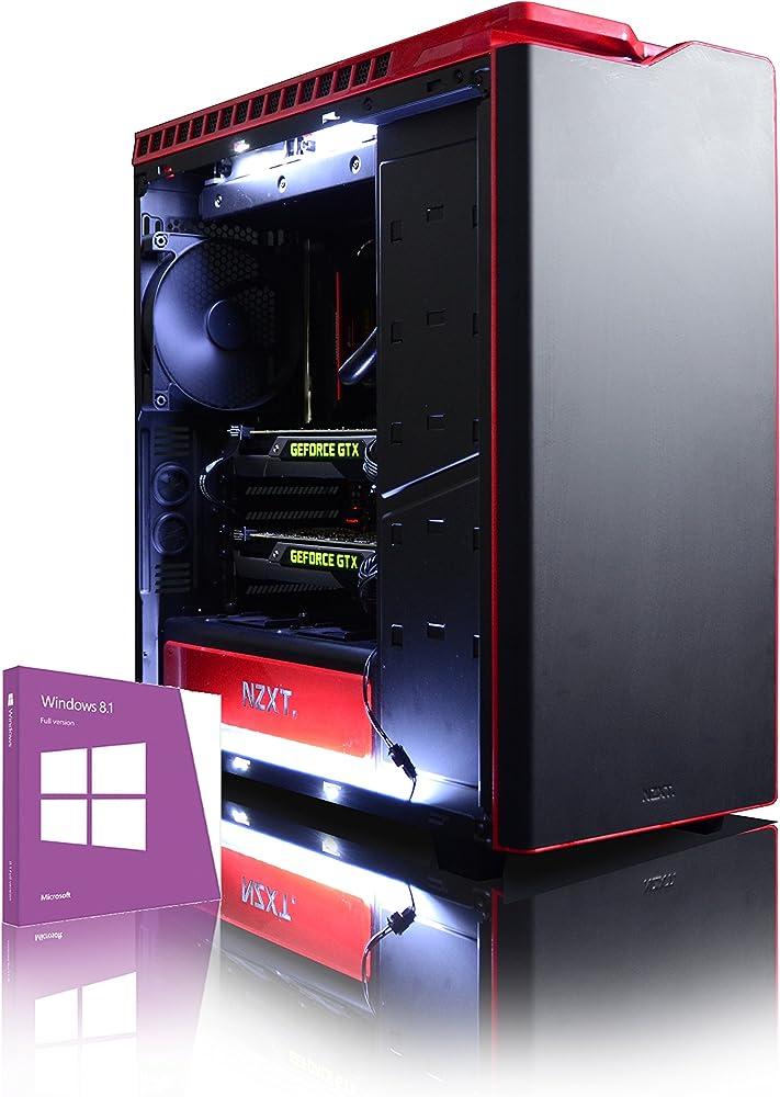 Vibox pc fisso gaming con voucher di gioco intel i9 extreme 10-core processore 2x dual sli nvidia geoforce VBX-PC-00995