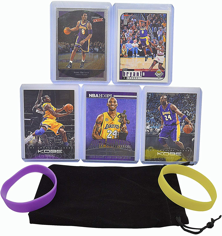 Kobe Bryant 5 Assorted Basketball Cards L - Angeles Ranking TOP14 Los Reservation Bundle