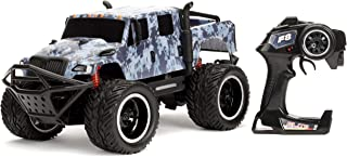 Jada Toys Fast & Furious 1:12 Hobbs`s MXT Elite Off-Road RC Remote Control Car 2.4 GHz, Toys for Kids and Adults, Blue, 99005