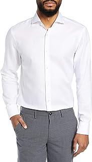 BOSS Mark Slim Fit Cotton Dress Shirt by BOSS