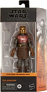 Star Wars The Black Series The Armorer Toy 6-Inch Scale The Mandalorian Collectible Figure, Toys for Children Aged from 4 ...