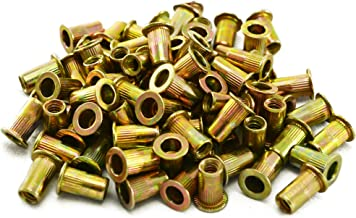 Astro Pnematic - 100Pc 10-24 Steel Rivet Nuts (model: RN1024)